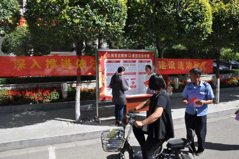"""朔州市审计局扎实开展""""依法行政宣传月""""活动"""