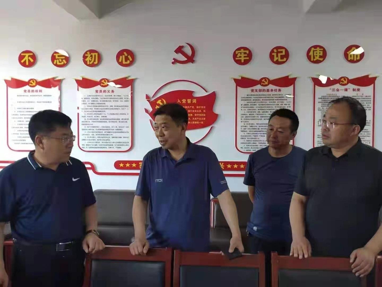 党组书记、局长李启军在右玉县审计局调研指导工作